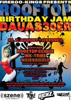ROOFTOP BIRTHDAY JAM 'DAUAS 30er' Flyer